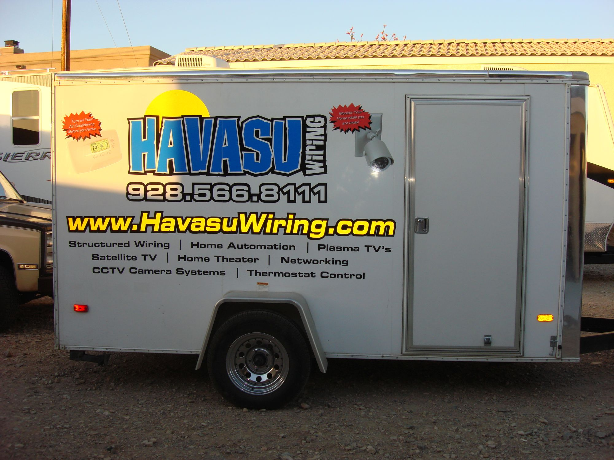 Havasu Wiring Smart Homes Sound Security Cameras And All Satellite House Was Started In 2006 Our Team Has Been The Audio Video Telecom Business Since 1995 We Have Worked Every Position From Grunt Installer To