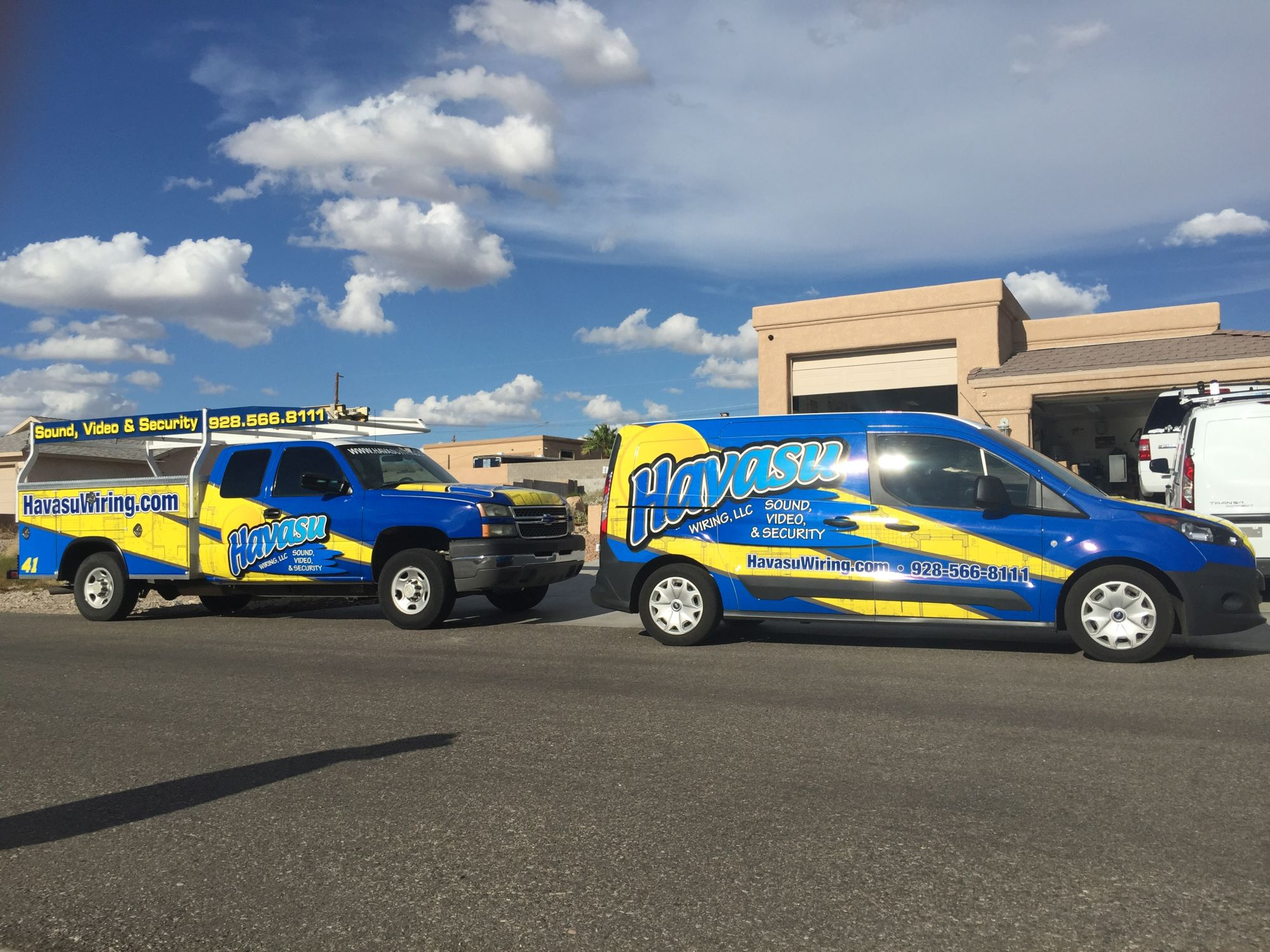 Havasu Wiring Smart Homes Sound Security Cameras And All Commercial Motor Lorne Created Llc To Give More Attention Detail Then The Big Box Retailers His Experience In Of Running Large Sales Installation